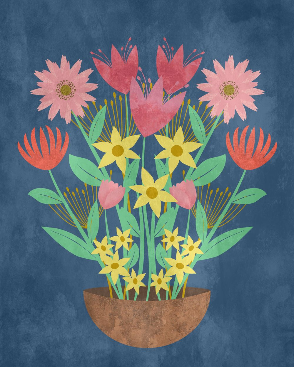 Floral symmetry - image 1 - student project