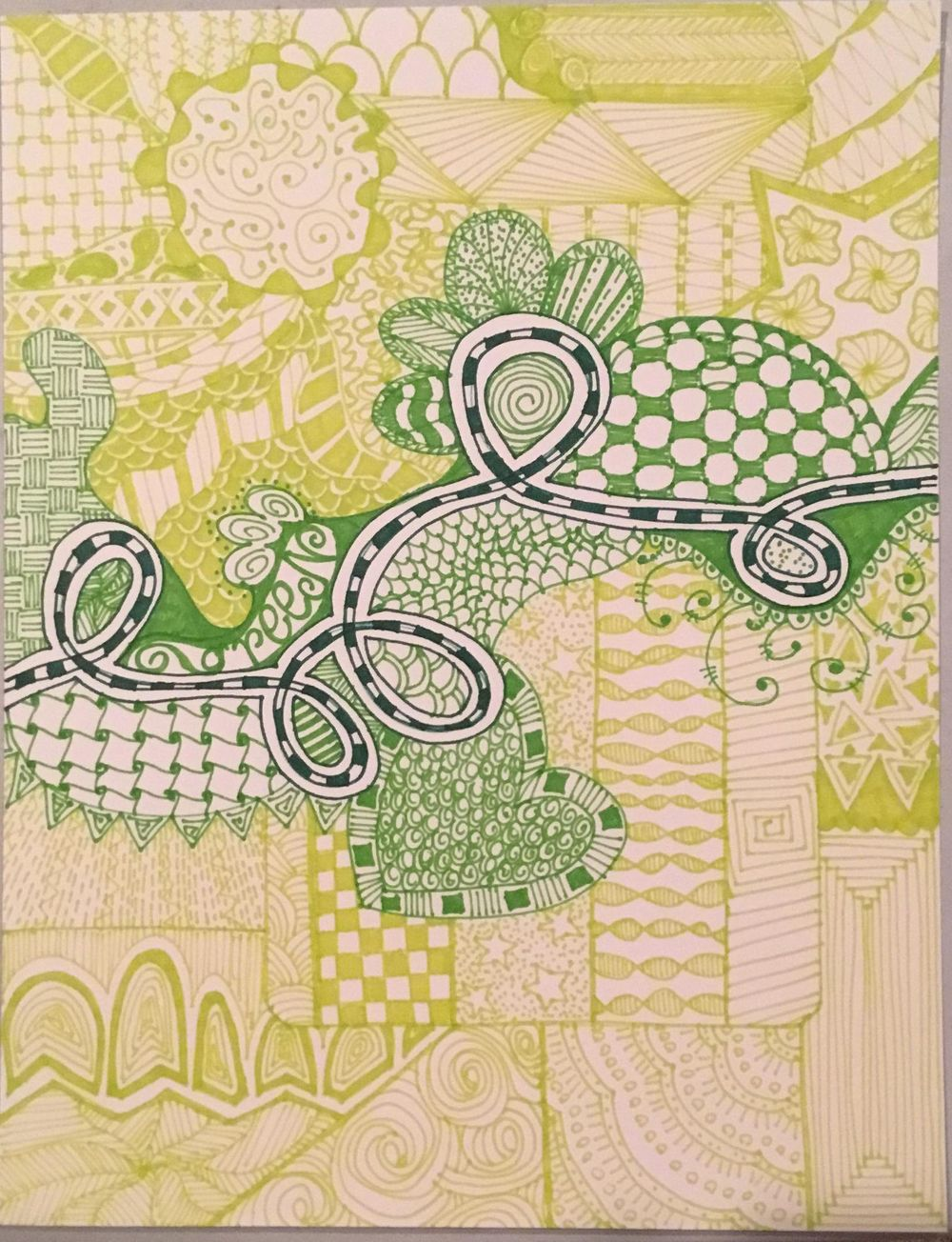 Big Green Doodle - image 1 - student project