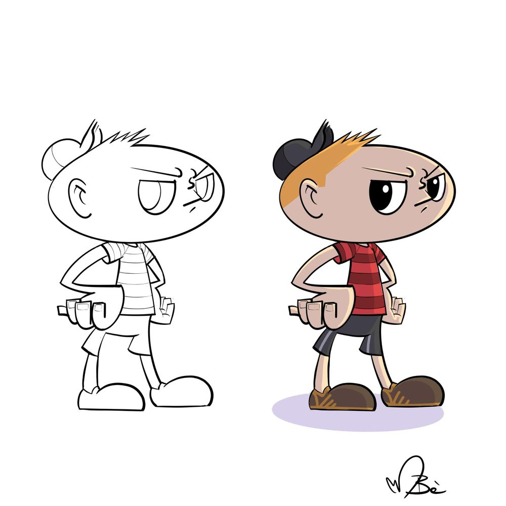 Character exercise - image 2 - student project