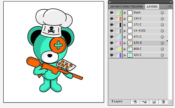 Boomy Bear and Johnny Cupcakes collaboration - image 3 - student project