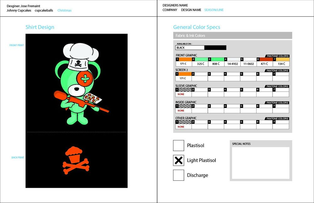 Boomy Bear and Johnny Cupcakes collaboration - image 2 - student project