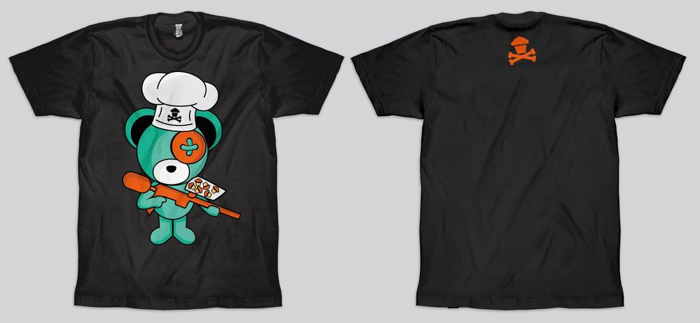Boomy Bear and Johnny Cupcakes collaboration - image 1 - student project