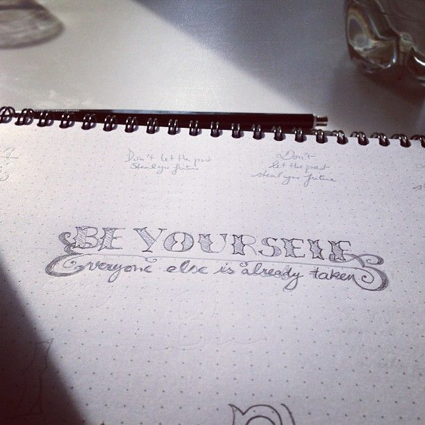 Be yourself, everyone else is already taken - image 1 - student project