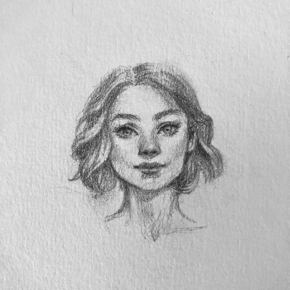 Female face - image 1 - student project