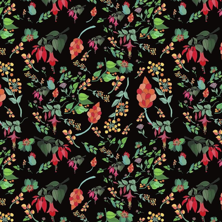 Floral pattern - image 3 - student project