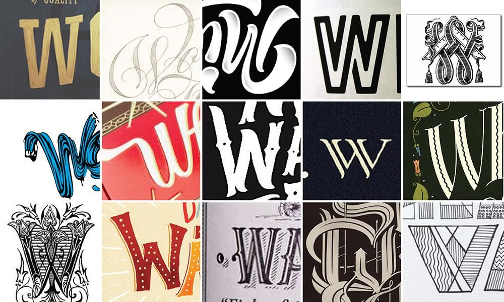 Will Type For Pay Monogram - image 1 - student project