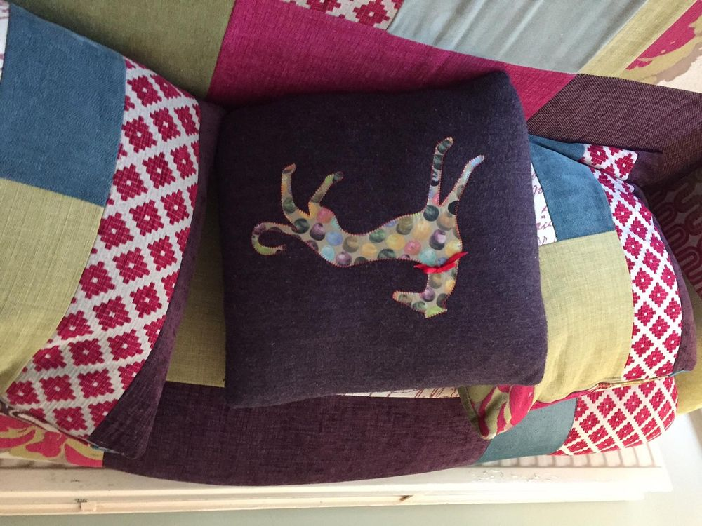 Hector cushion - image 1 - student project