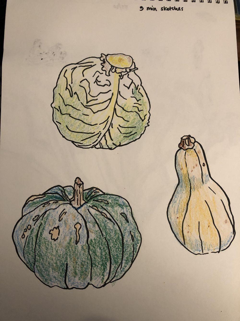 Veggies - image 2 - student project