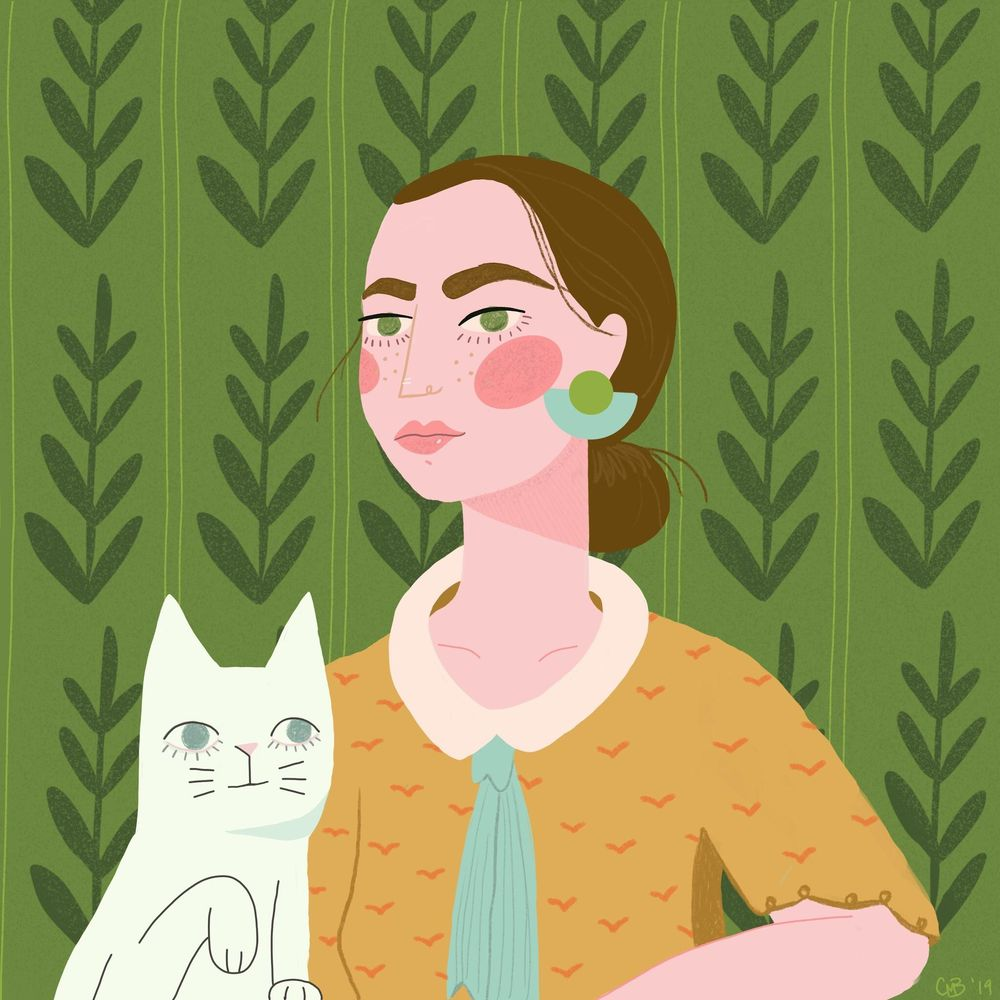 Cat ladie - image 1 - student project