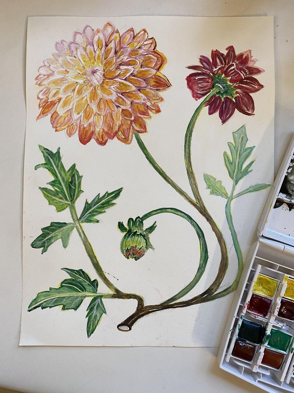 Vintage Botanicals - image 1 - student project