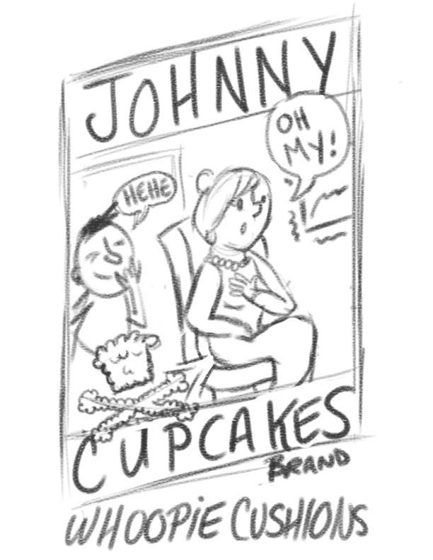 Johnny Cupcakes Brand Study - image 2 - student project