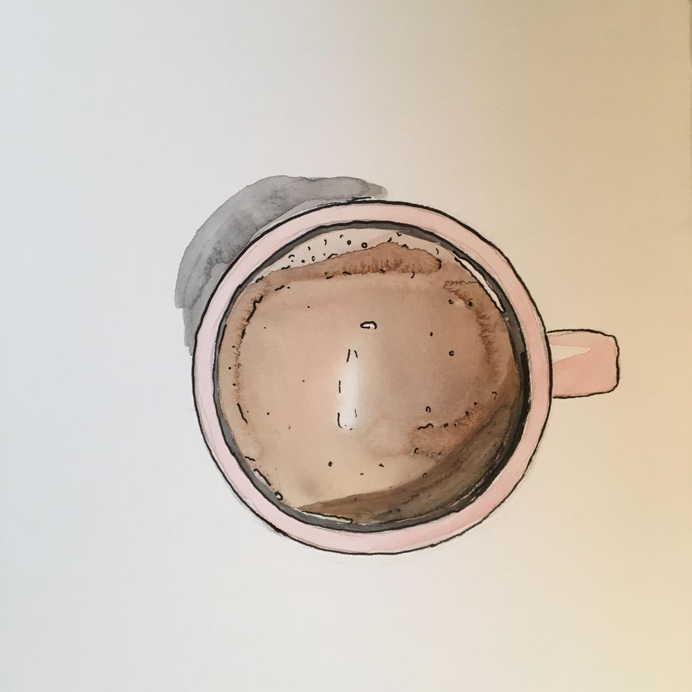 My First Coffee Cup!! - image 1 - student project
