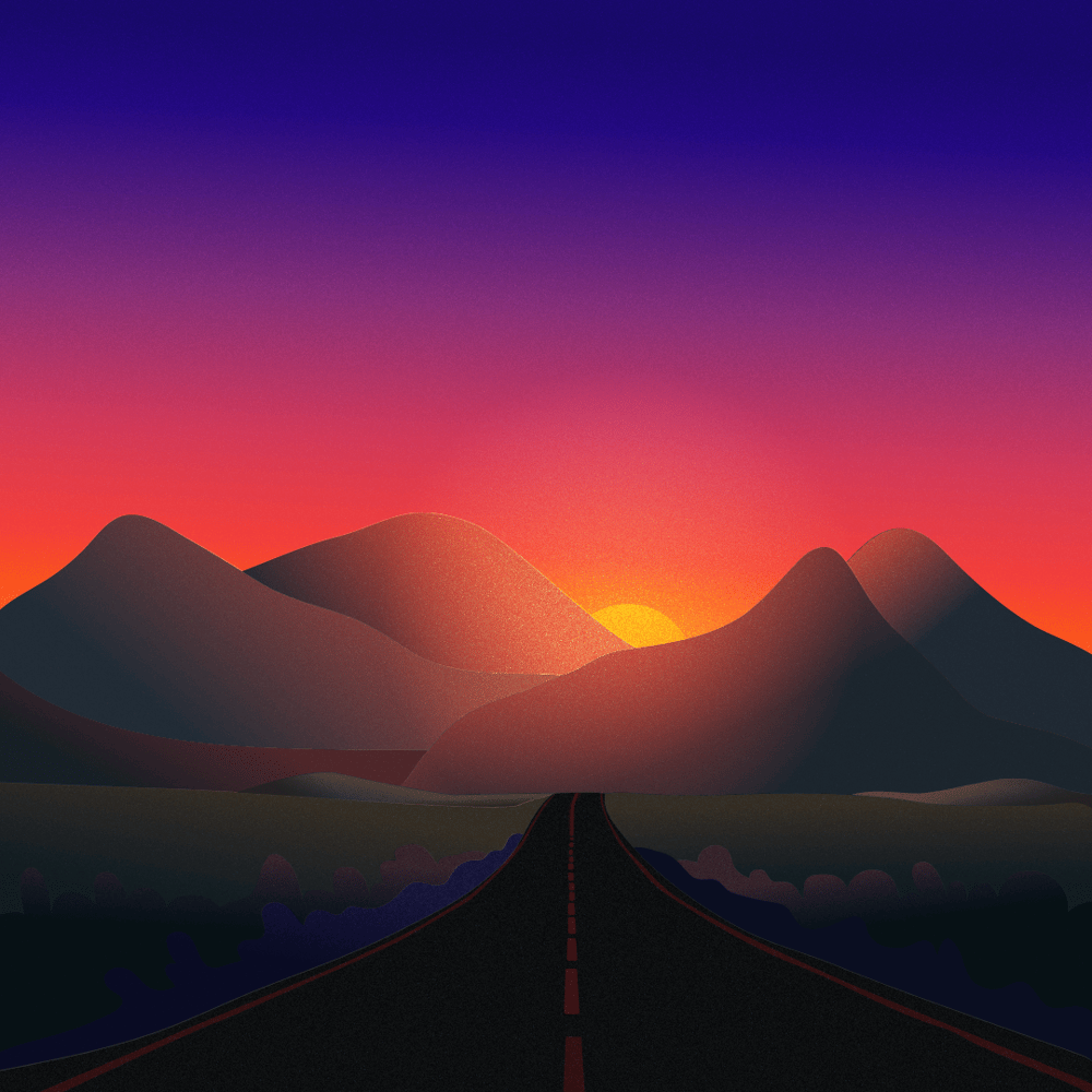 Sunset - image 1 - student project