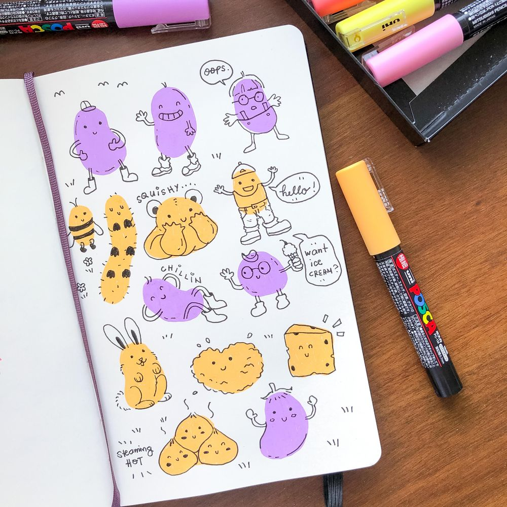 My blob monsters, treehouse and bug party - image 2 - student project
