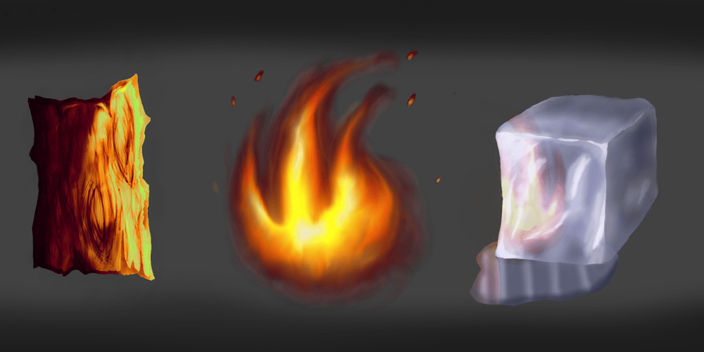 Wood Fire Ice - image 1 - student project
