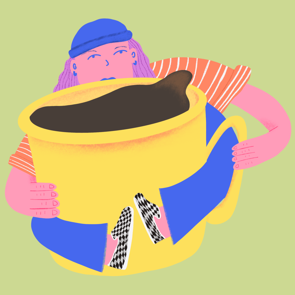 coffee gal - image 1 - student project