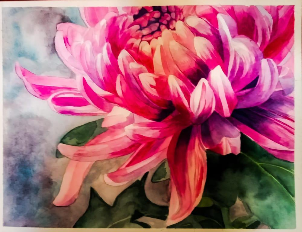 Louise de Masi class - Chrysanthemum - image 1 - student project