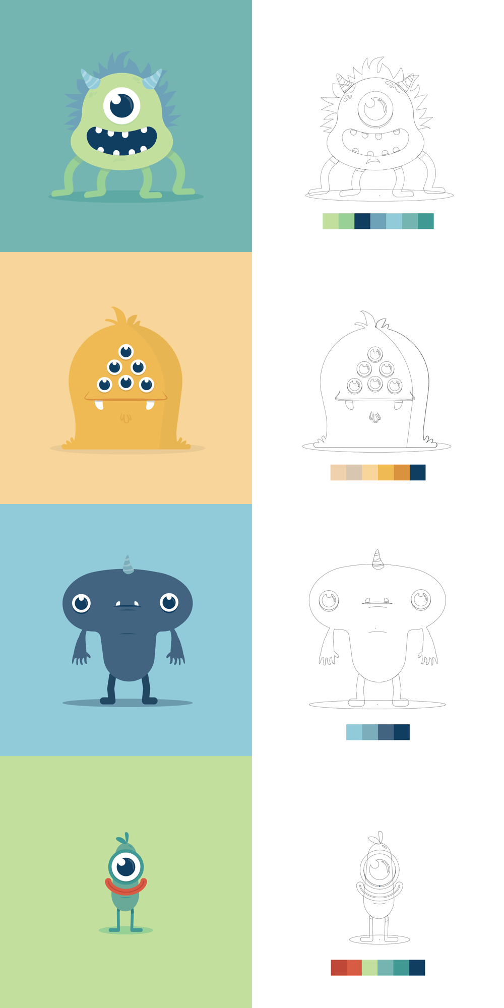 Monsters: Mugshots - image 2 - student project