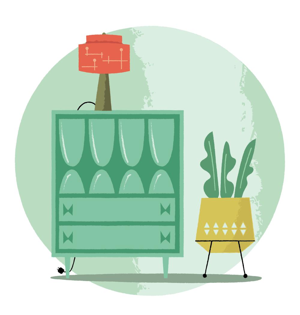 Mid Century Dresser - image 5 - student project