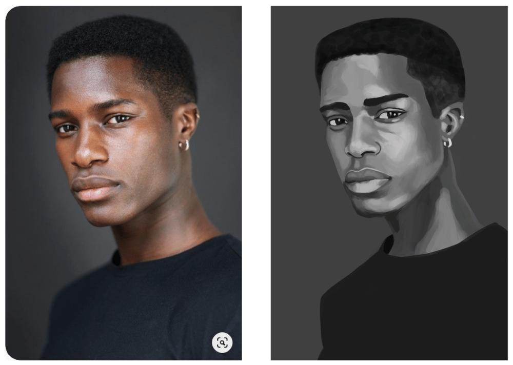 Photoshop Portrait - image 1 - student project