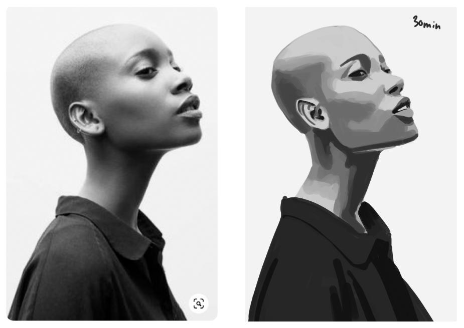 Photoshop Portrait - image 3 - student project