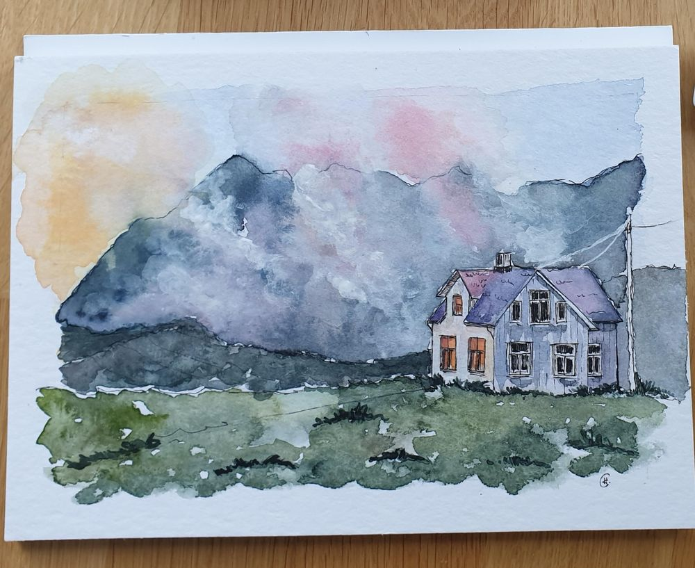 4 watercolors in 4 weeks - image 1 - student project