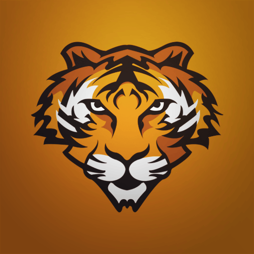 Tiger Mascot Example - image 1 - student project