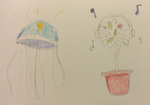 Glowing jellyfish - image 1 - student project