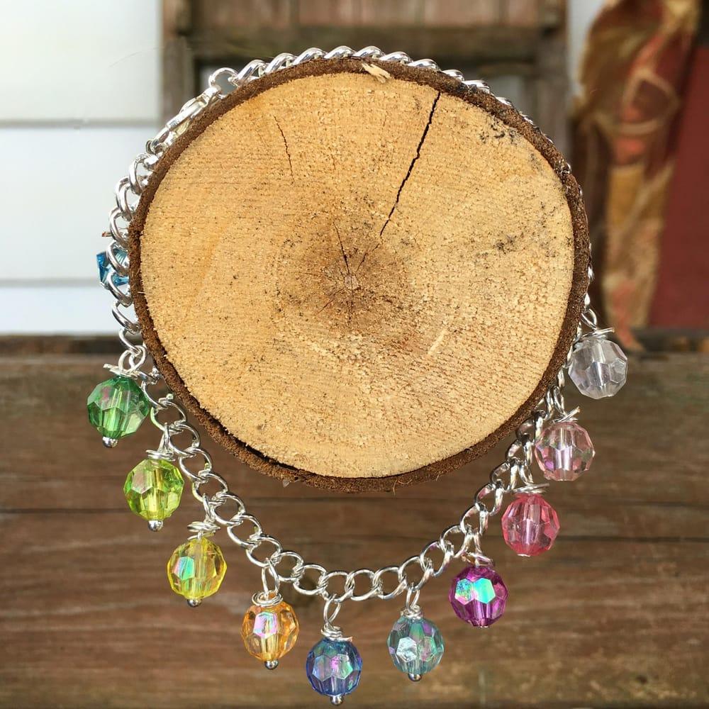 Dangling Bead Bracelet - image 1 - student project