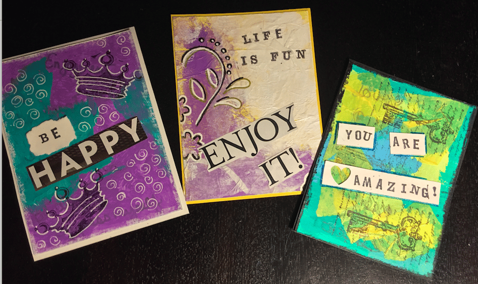 My cards inspired by your class. - image 1 - student project