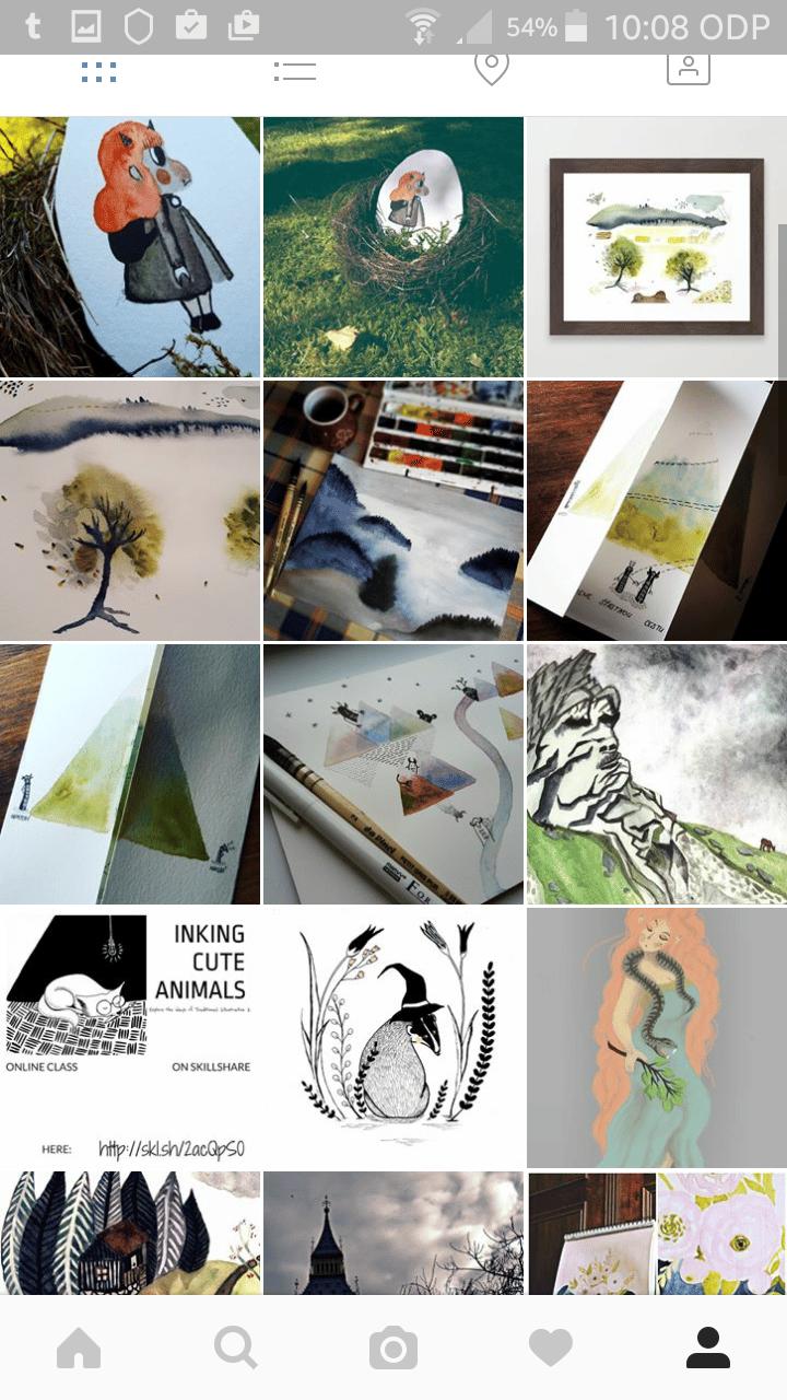 Instagram remake - image 1 - student project