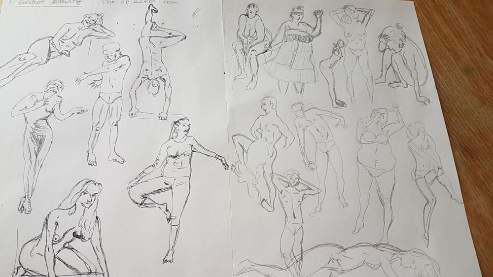 Gesture drawing - image 2 - student project