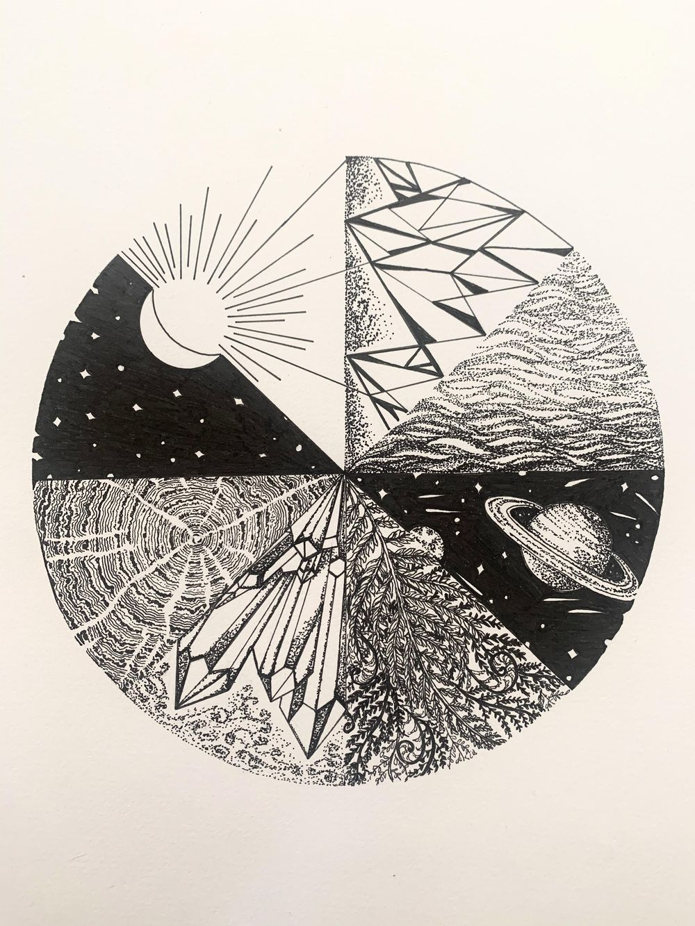 Land, Sky, Water Inspiration - image 1 - student project