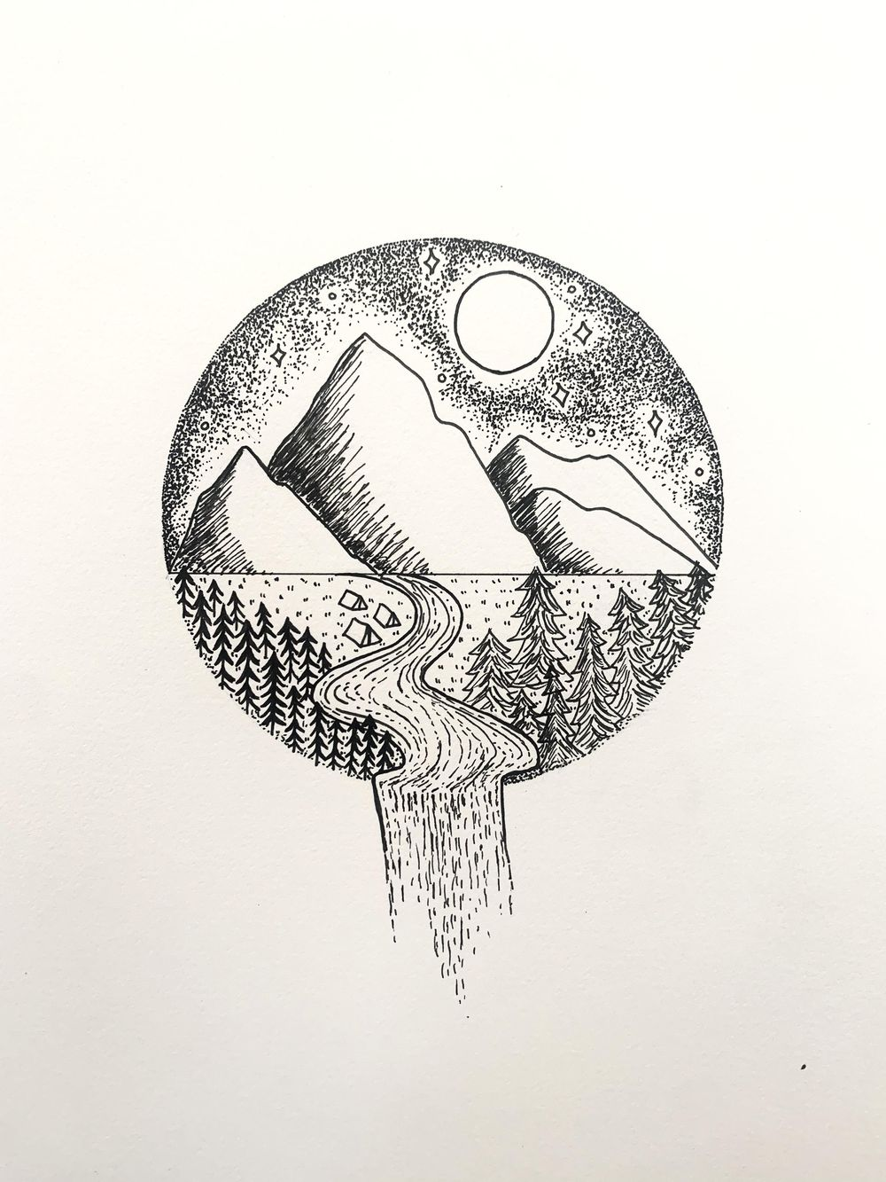 Land, Sky, Water Inspiration - image 2 - student project