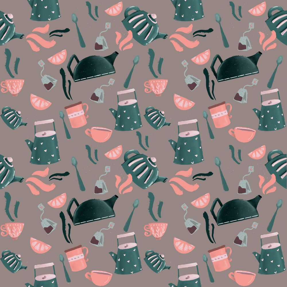Seamless patterns done! - image 3 - student project