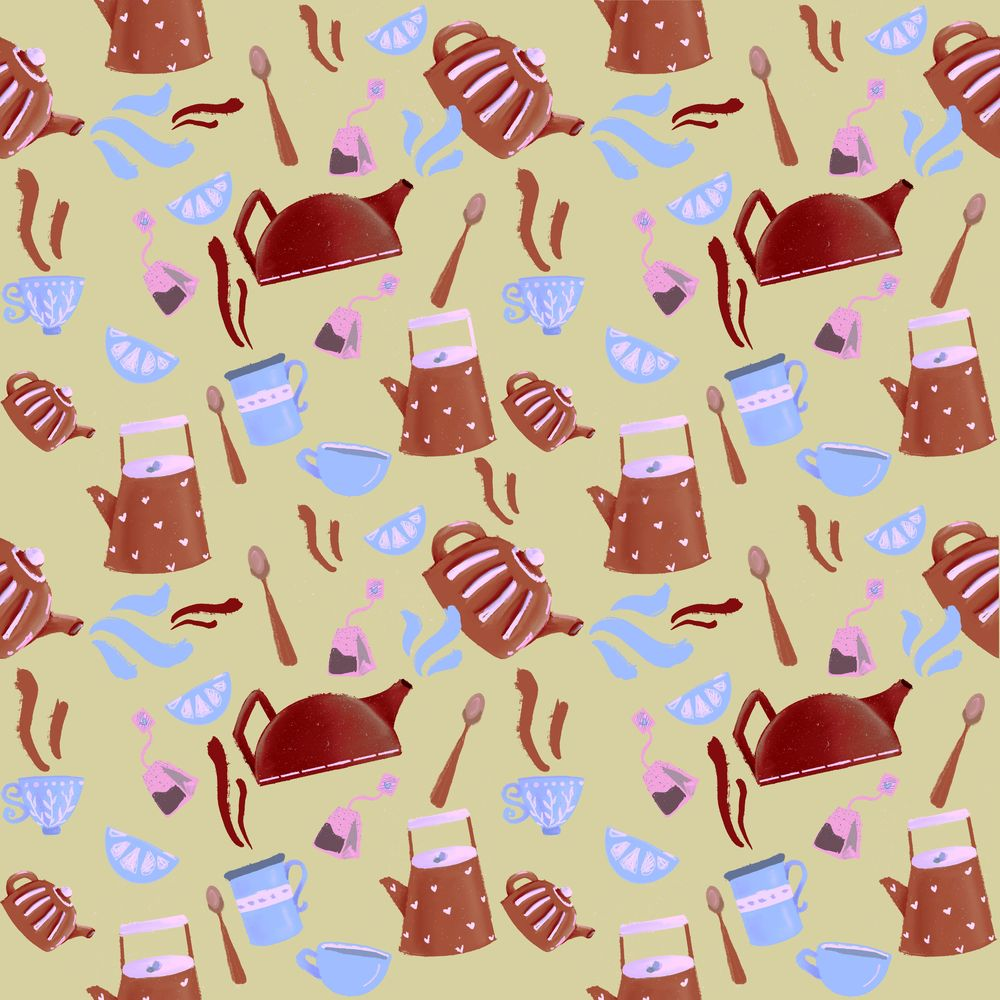 Seamless patterns done! - image 4 - student project
