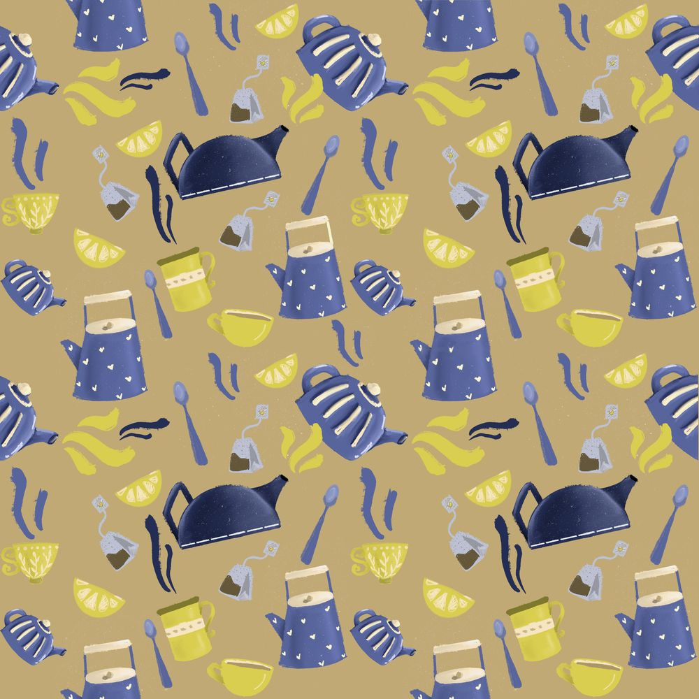 Seamless patterns done! - image 2 - student project
