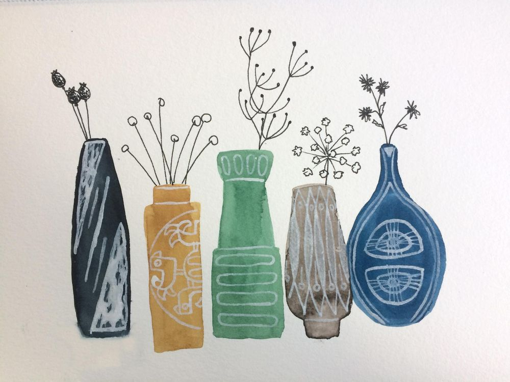 so many nice vases on pinterest... - image 2 - student project