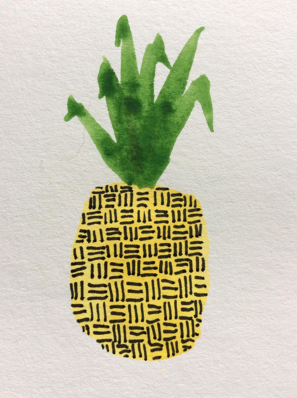 Pretty Patterned Pineapples - image 2 - student project