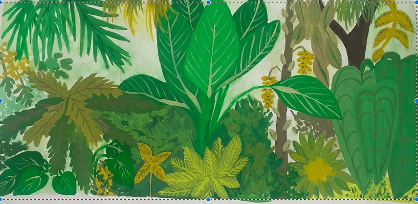 Gouache Jungle - image 1 - student project