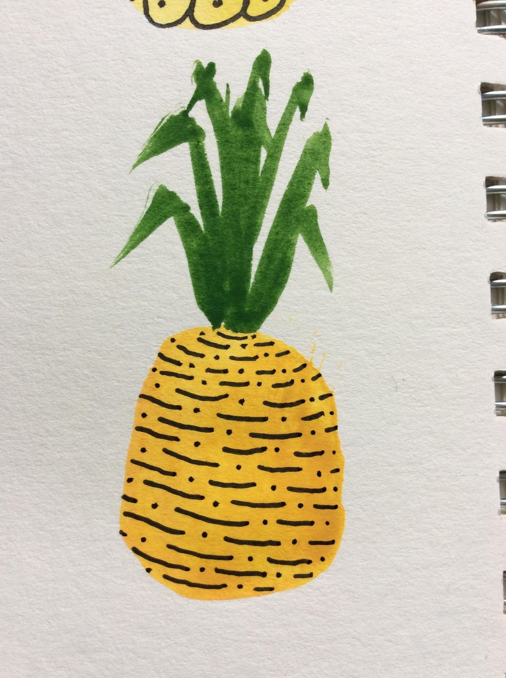 Pretty Patterned Pineapples - image 3 - student project