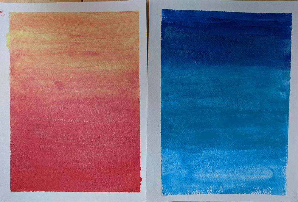 Acrylic Paintings by Beth and Mae--me and my 11 year old - image 10 - student project