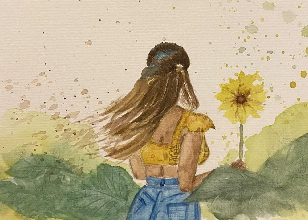Sunflower Lady - image 1 - student project
