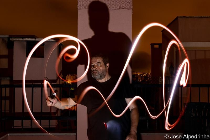 First experiment on Light Painting - image 1 - student project