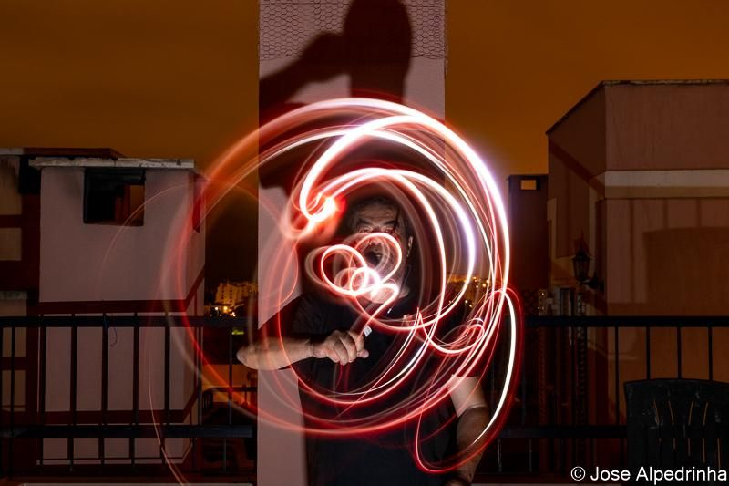 First experiment on Light Painting - image 2 - student project