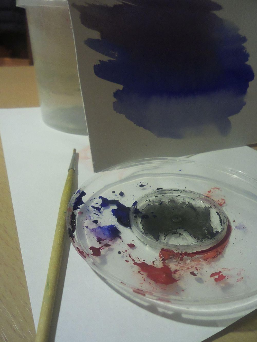 my working table still-life ) - image 2 - student project