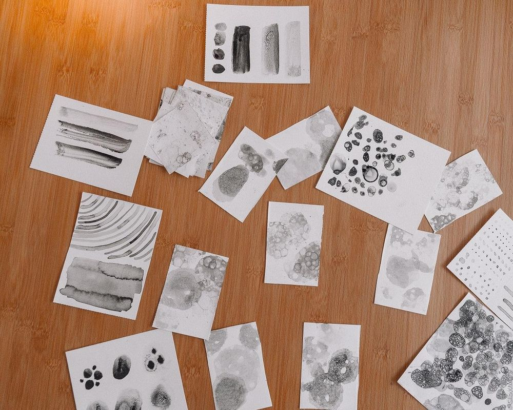 Create Your Own Textures With Chinese Ink - image 2 - student project
