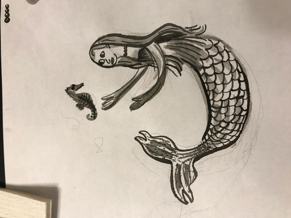 Sea Creature Ink - image 5 - student project