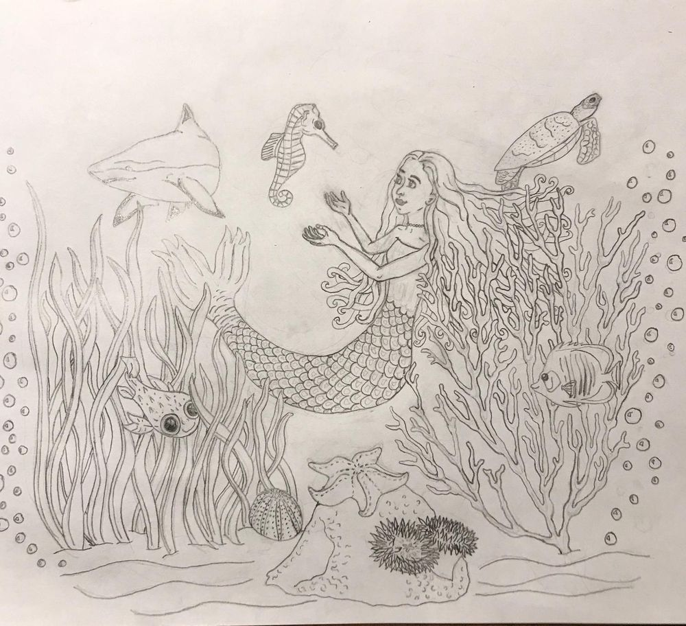 Sea Creature Ink - image 4 - student project