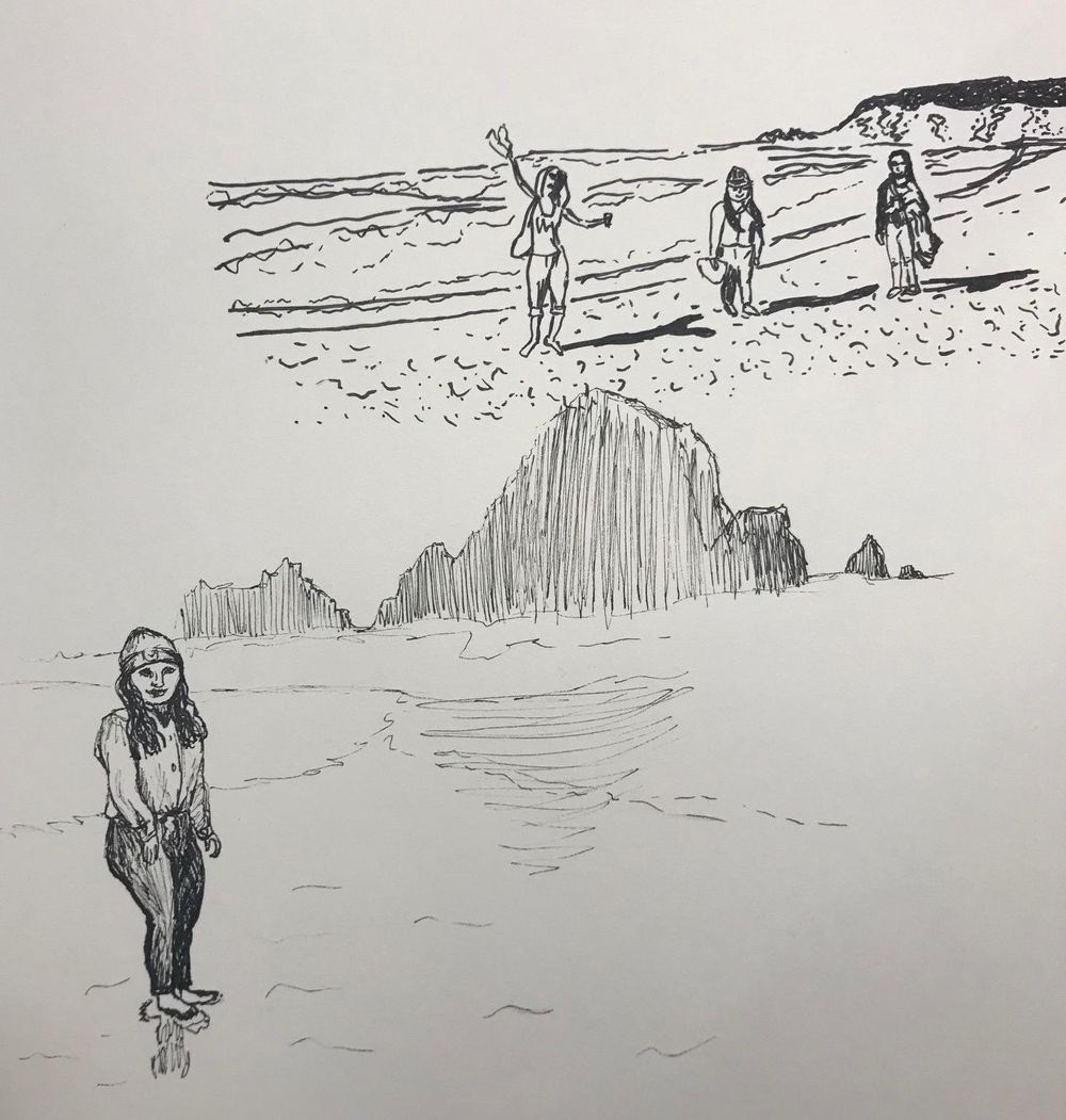 Practicing with ink and lines - image 3 - student project